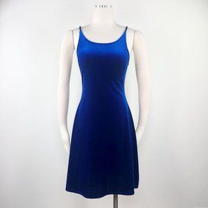 Vittoria Virini M Velvet Dress Royal Blue
